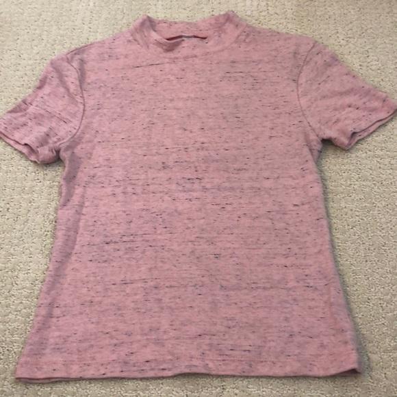 American Apparel Tops - American apparel mock neck t shirt